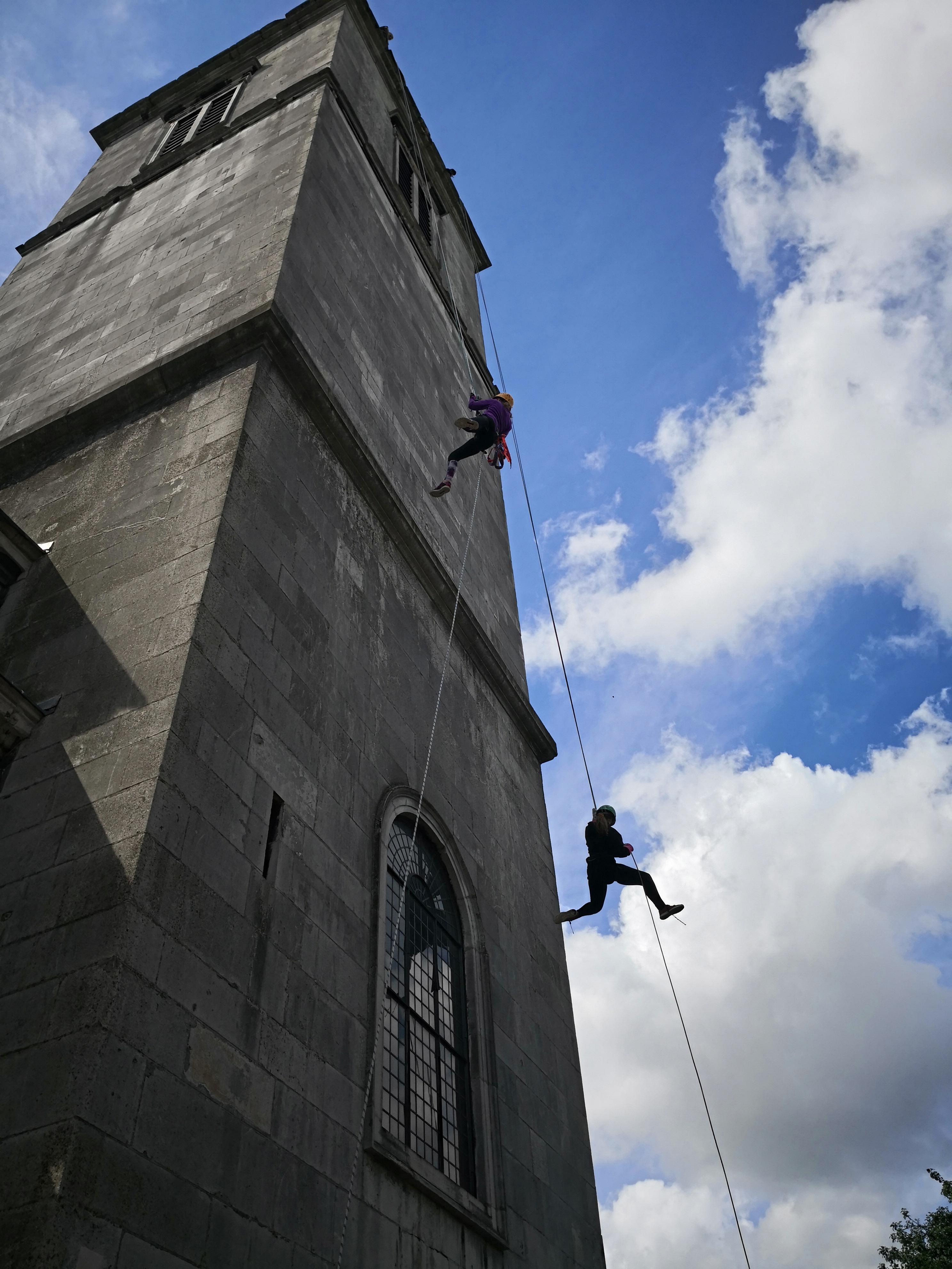 Church Tower Abseil