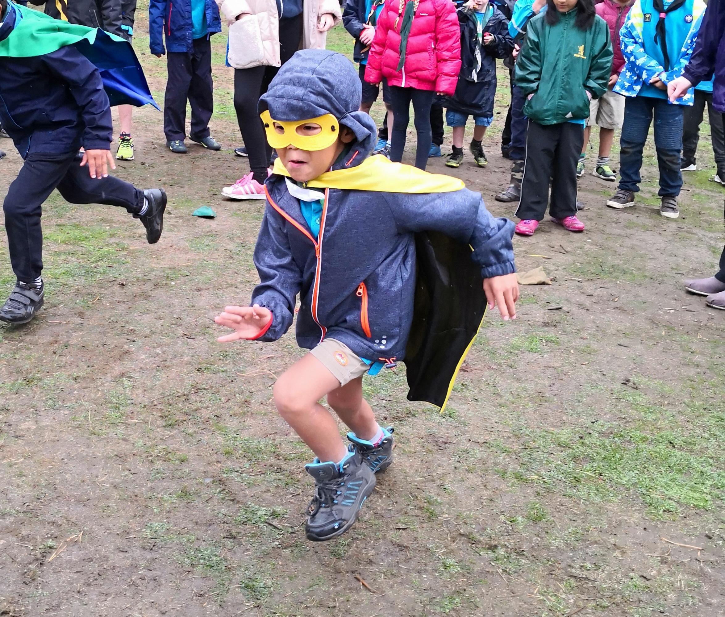 Beaver Super Hero Fun Day