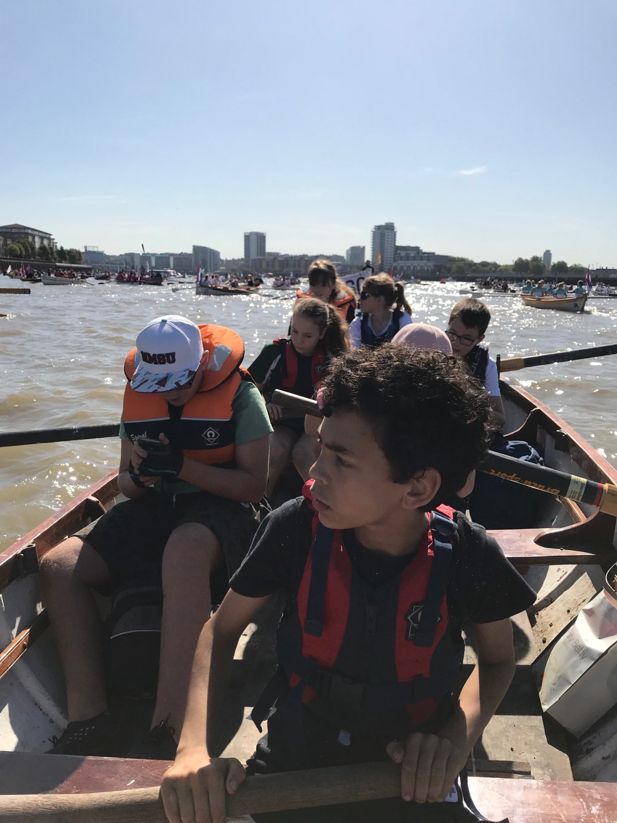 Animal Crew in Great River Race